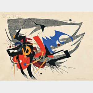 Hodaka Yoshida (Japanese, 1926-1995)      Tako