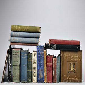 Eighteen Violin-related Books