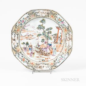 Export Famille Rose Dish
