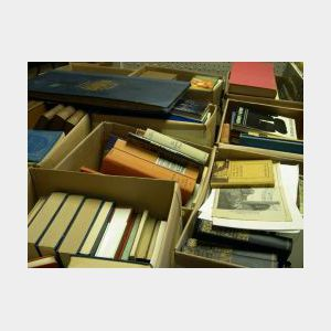 Collection of Approximately Twenty-three Boxes of Assorted Books.