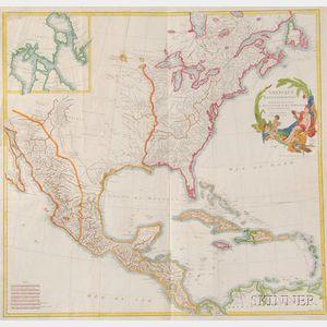 (North America), D'Anville, Jean Baptiste Bourguignon (1697-1782)