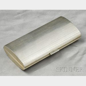 Sterling Silver Case, Cartier