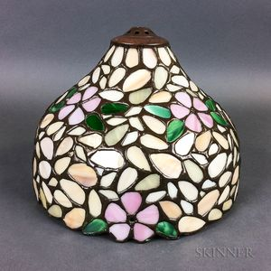 Leaded Glass Boudoir Lamp Shade