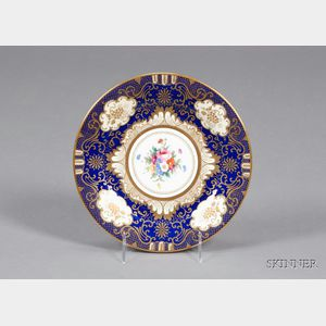 Set of Twelve Crown Staffordshire Plates