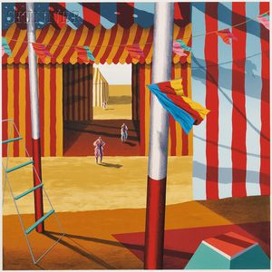 Alison Cann-Clift, called Ali (American, b. 1949)      Center Tent