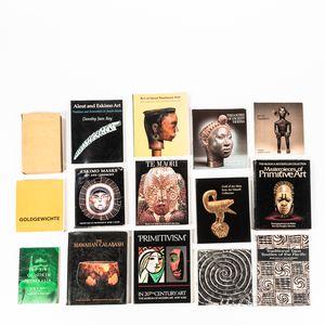Fifteen Books on Tribal Art