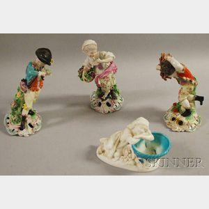 Four Assorted Porcelain Figures