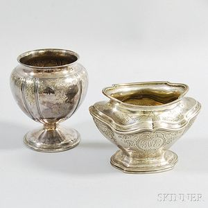 Two Pieces of Reed & Barton Sterling Silver Teaware