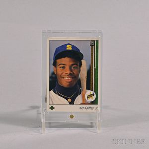 Ken Griffey Jr. Upper Deck #1 Rookie Card.