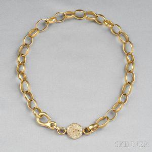 18kt Gold and Diamond Necklace, Pomellato