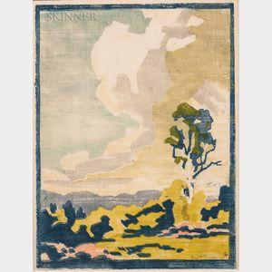 Eliza Draper Gardiner (American, 1871-1955)      Passaconaway No. 2