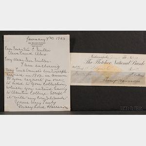 Harrison, Benjamin (1833-1901) & Harrison, Mary Lord (1858-1948)