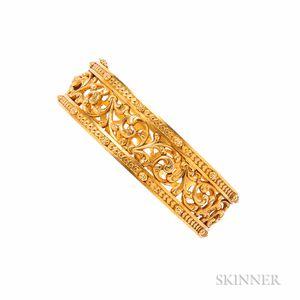 Antique 18kt Gold Bracelet, Froment-Meurice
