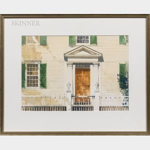 Robert Larsen (American, 20th Century)      Franklin Pierce Homestead