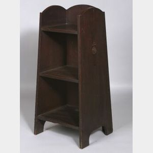 Roycroft Three-Tier Oak Bookcase