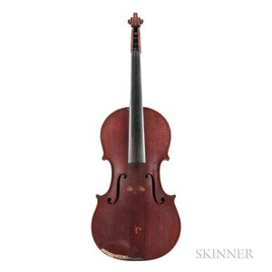 American Violin, Jerome Bonaparte Squier, Boston, 1890