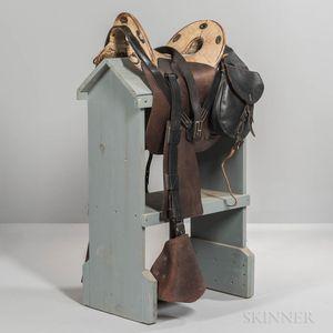 Reproduction U.S. Model 1859 McClellan Saddle by F. Burgess & Company