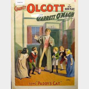 Three Chauncey Olcott Theatrical Lithograph Posters