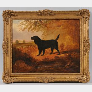 British School, 19th Century      Dog Portrait