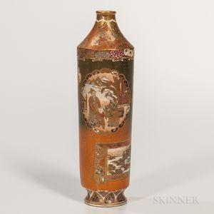 Satsuma Bottle Vase