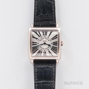 "Franck Muller ""Master Square"" 18kt White Gold Wristwatch"