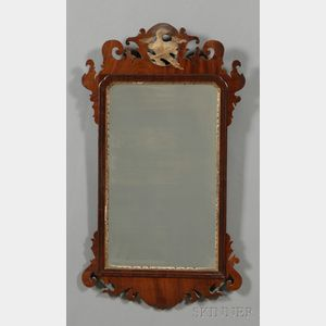 Chippendale Mahogany and Gilt-gesso Mirror