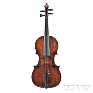 Italian Violin, Joannes Maria Valenzano, Rome, 1809