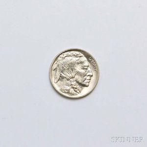 Sold for: $2,214 - 1921 Buffalo Head Nickel