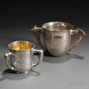 Two Gorham Sterling Silver Trophy Cups for Wisconsin Yacht Clubs