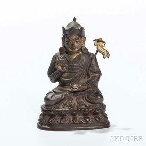 Bronze Figure of Padmasambhava