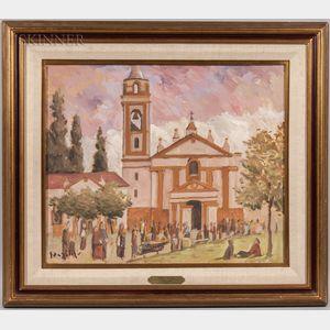 Juanillo González (Uruguayan, b. 1942)      Día de Otoño