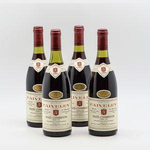 Faiveley Mazis Chambertin 1989, 4 bottles