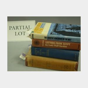 Group of Titles Relating to Ancient and Modern Egypt.