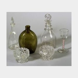 Six Early Glass Items