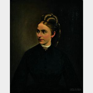 Austrian School, 19th Century      Portrait of a Young Woman
