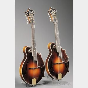 Sold for: $136,275 - Pair of American Mandolins, Gibson Mandolin-Guitar Company, Kalamazoo, 1926