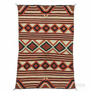 Sold for: $237,500 - Navajo Classic Serape