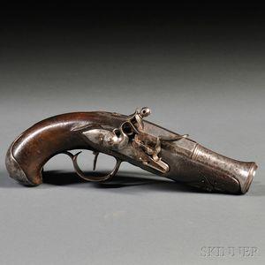 Flintlock Pistol with Belt Hook