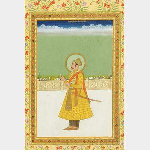 Portrait of a Mughal Ruler