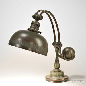 Tiffany Studios Counterbalance Table Lamp