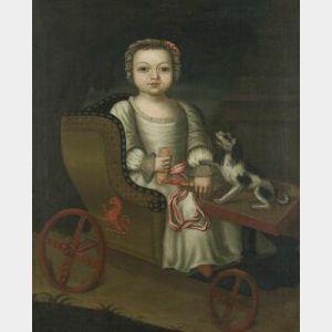 British School, 18th/19th Century  Portrait of Jenny Caygill...