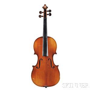 Modern French Violin, Jean Mennesson, Reims, 1920