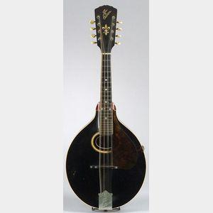 American Mandolin, Gibson Mandolin-Guitar Company, Kalamazoo, 1904,   Model A-4