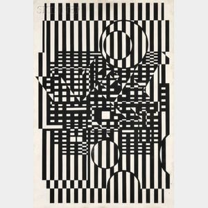 Victor Vasarely  (French, 1906-1997)      TY-NEU
