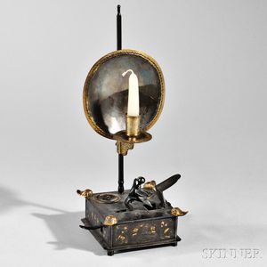 Mechanical Tinder Lighter and Candle Sconce