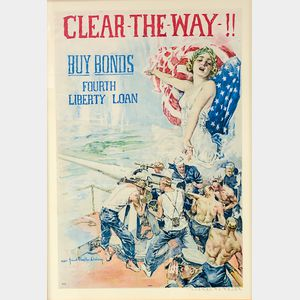 Framed Howard Chandler Christy Clear The Way   Poster