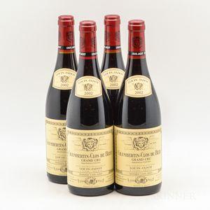 Louis Jadot Chambertin Clos de Beze 2002, 4 bottles