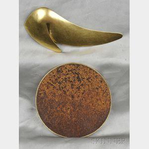 Two Art Jewelry Items, one Mark Davis