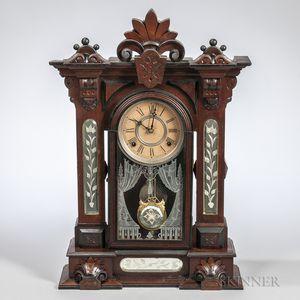 """Gilbert """"Amphion"""" Shelf Clock"""