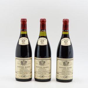 Louis Jadot Bonnes Mares 1993, 3 bottles